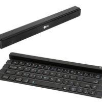 LG Rolly: teclado completo, compacto, ligero y enrollable