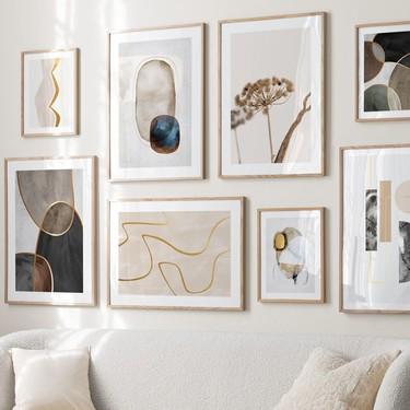 Las paredes de tu casa piden a gritos que las decores. Y hoy te traemos 10 tiendas online para comprar láminas y pósters molones