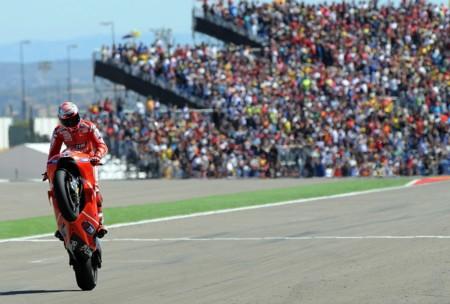 Casey Stoner Ducati Aragon 2010 Motogp