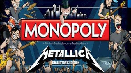 Metallica ya tienen su propio Monopoly