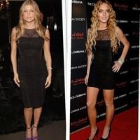 Cuestión de Estilo: Lindsay Lohan Vs Fergie