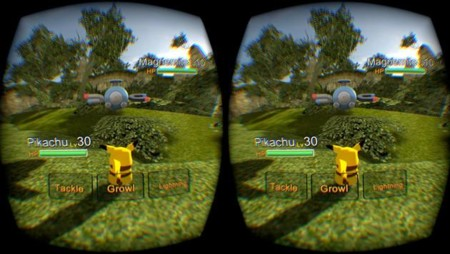 Te querrás hacer con todos en esta versión de Pokémon (no oficial) para Oculus Rift