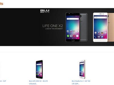 Amazon deja de vender teléfonos BLU por la polémica de su software espía