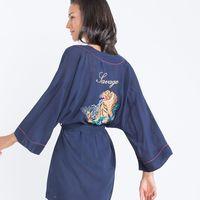 ¿Una bata o un kimono?