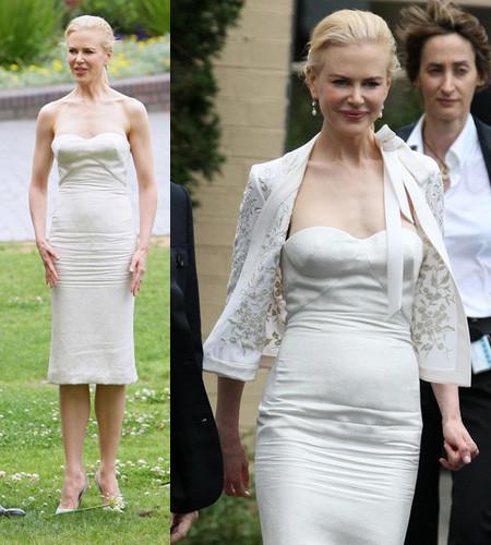 Nicole Kidman en la presentación y premiere de Australia en Sidney