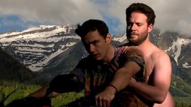 Ver a James Franco y a Seth Rogen magreándose en modo Kanye-Kim... ¡no tiene precio!