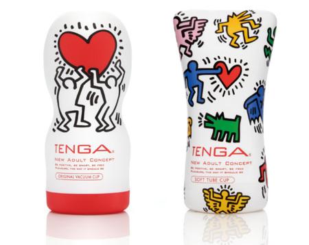 Tenga x Keith Haring: sex toys muy pop