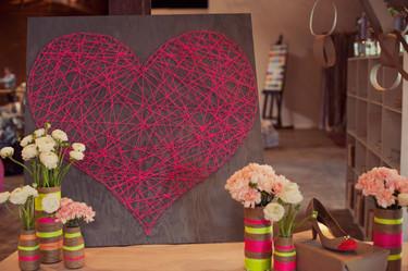 Hazlo tú mismo: un corazón con hilo rojo