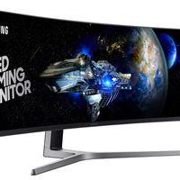 ¿Buscas un monitor de gran tamaño? El Samsung CHG90 y sus 49 pulgadas llegará en noviembre por 1.499 euros