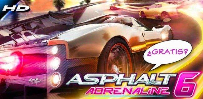 Asphalt 6 HD, gratis para el SGS 2