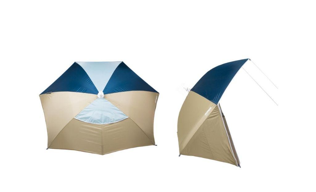 Sombrilla refugio para playa UPF50+