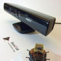 Cucarachas al rescate gracias a Kinect