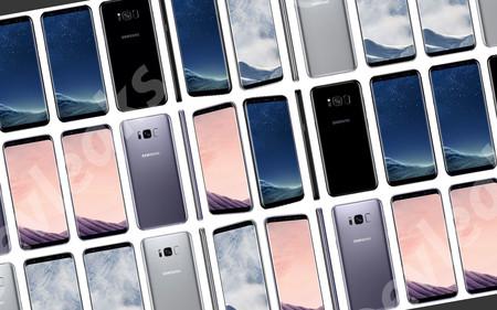 Éste es el Samsung Galaxy S8, ya podemos verlo en todos sus colores y detalles