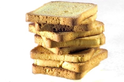 Cuantas calorias tiene una tostada de maiz horneada