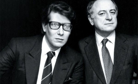 Yves Saint Laurent Pierre Bergé