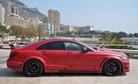 German Special Customs Stealth Mercedes-Benz CLS 63 AMG