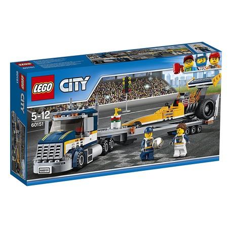 Amazon ha rebajado el Lego City: transporte del dragster un 25% y ahora cuesta sólo 22,49 euros