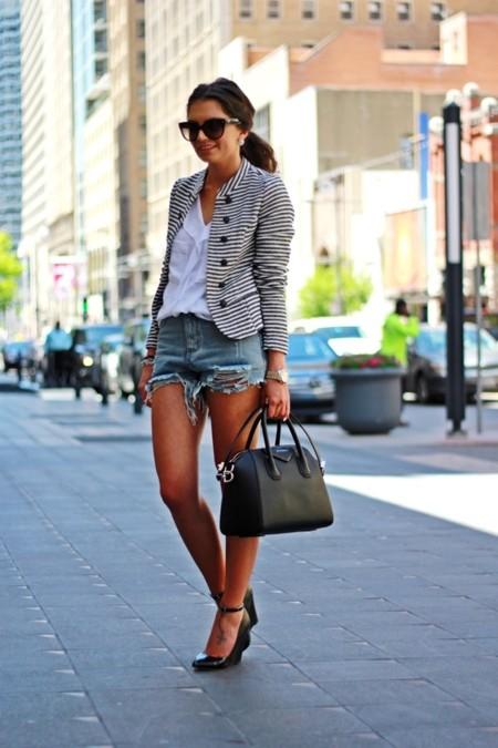 shorts chaqueta