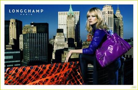 Más imágenes de Kate Moss para Longchamp