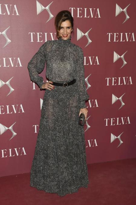 Elia Galera en la gala de premios T de Telva 2014