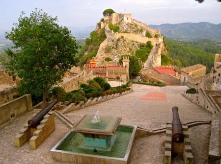 Visita al Castillo de Xàtiva