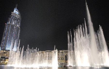 'The Dubai Fountain', listas en el Burj