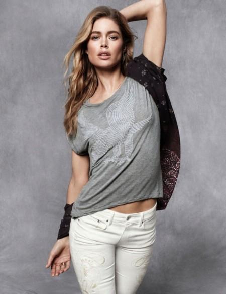 H&M otoño 2013 pantalones blancos