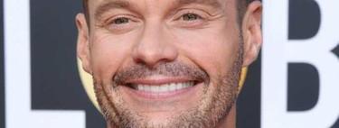Ryan Seacrest suma elegante color y tercipelo a su look para los Golden Globes