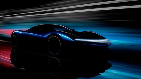 El hiperdeportivo eléctrico Pininfarina PF0 nos deja ver sus esculturales formas en este teaser