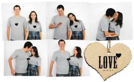 Lovewear, camisetas para enamorados