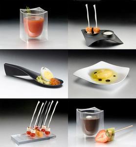 Utensilios desechables con un elegante diseño, Tast