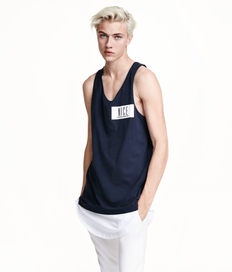 H&M by Lucky Blue Smith