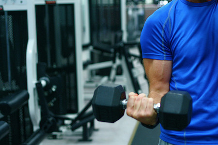 Circuito de pesas para principiantes