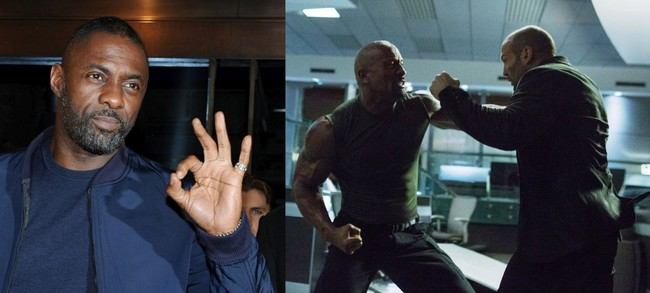 Idris Elba, The Rock and Jason Statham