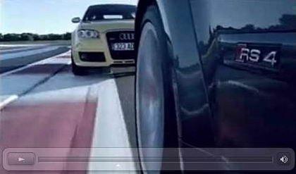 Vídeo promocional del Audi RS4 en Paul Ricard
