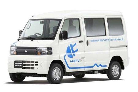 Mitsubishi comienza con los pedidos de su furgoneta eléctrica, la MINICAB-MiEV