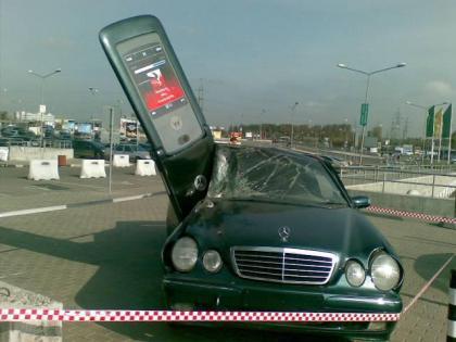 Mercedes Clase E contra Motorola