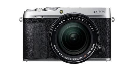 Fujifilm X E3 Plata 18 55