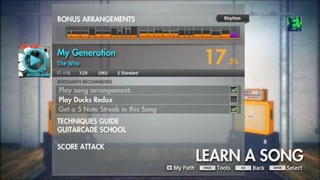 Tracklist completo de 'Rocksmith 2014 Edition'