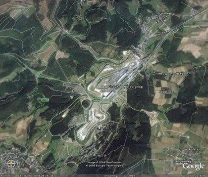 Lista de circuitos en Google Maps