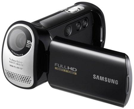 Samsung HMX-T10, nueva videocámara con lente inclinada