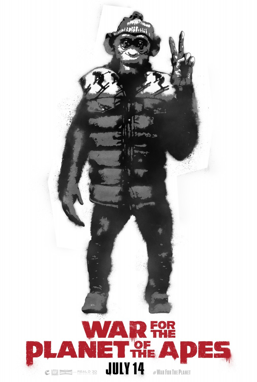 Foto de Carteles de 'La guerra del planeta de los simios' (4/6)