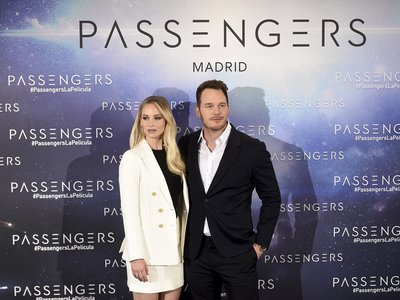 Jennifer Lawrence y Chris Pratt presentan Passengers en Madrid y solo podemos decir que nos hemos enamorado de ellos