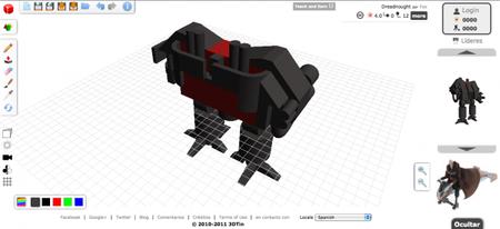 ¿Modelado en 3D solo con HTML5 y CSS3? No es Minority Report, es 3DTin