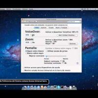 Screencast: un repaso a todas las opciones de Acceso Universal en OS X