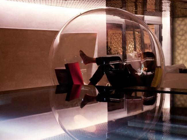 Foto de Cocoon 1 de Micasa Lab, un mueble en el que se puede vivir (2/4)