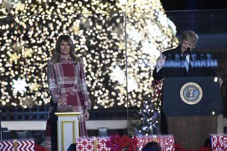 Melania Trump Navidad 2