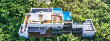 Puertas abiertas: casa Ikal, el paraíso convertido en vivienda con vistas al caribe