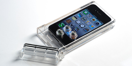 iPhone Scuba Case de TAT7 carcasa para convertir tu iPhone en una cámara sumergible