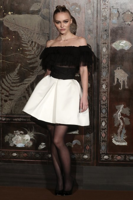 Lily Depp Chanel